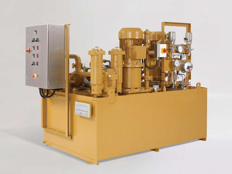 Bijur Delimon Automatic Lubrication Systems Oil