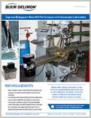 Machine Gereedschap FL Knee Mill Auto