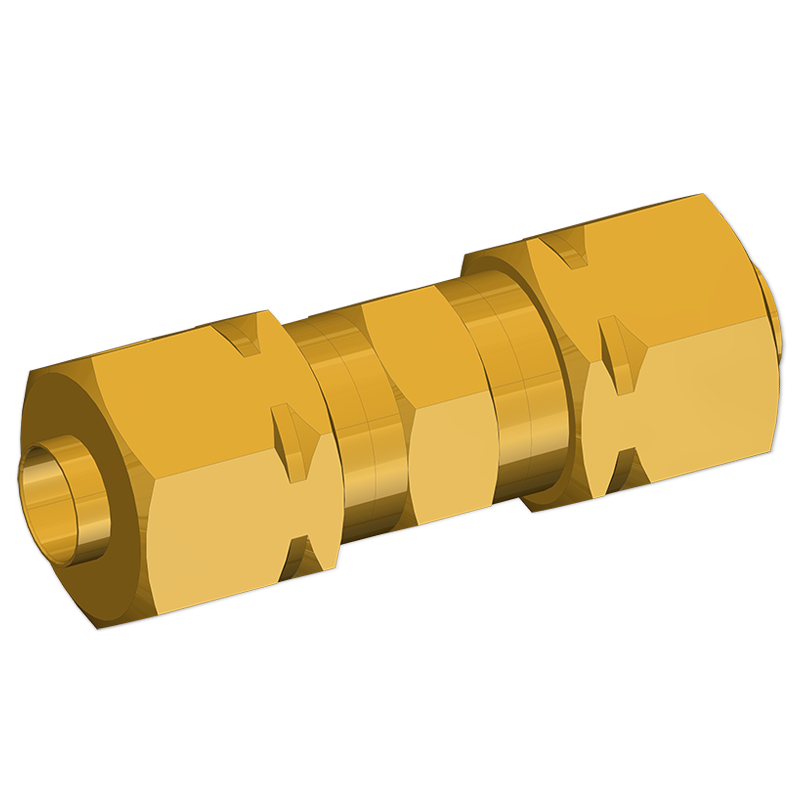 TUBE ADAPTERS STRAIGHT UNION CONNECTOR