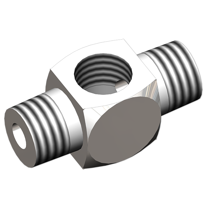 Pipe Fittings Branch Tee Male X Female X Male