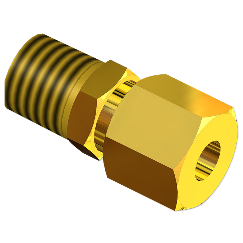 Tube Adapters Straight Male Connector