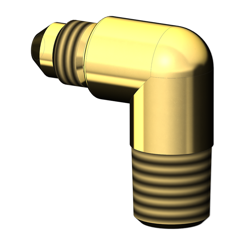 TUBE ADAPTER BODY ELBOW MALE X MALE