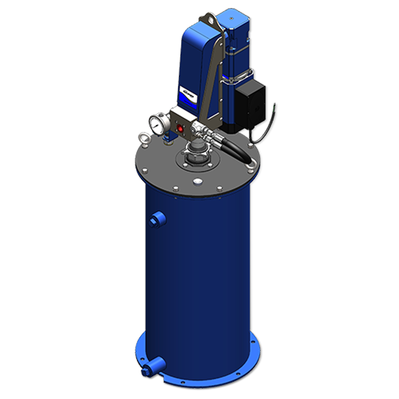 Electric Barrel Pump Dedicated Container