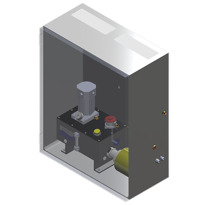 GPO Enclosure Assembly