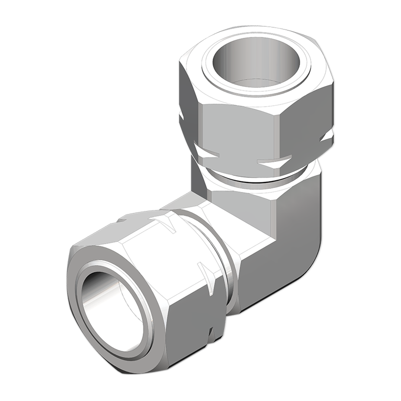 TUBE ADAPTERS ELBOW UNION CONNECTOR