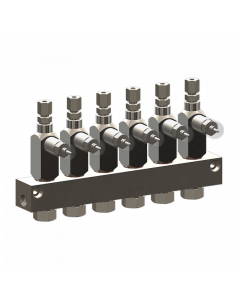 CXL2 Injector 6-Outlet 1/8NPTF Configurator