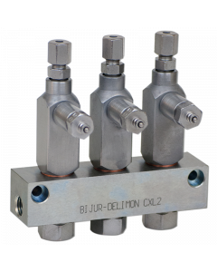 CXL2 Injector 3-Outlet 1/8BSPP Configurator
