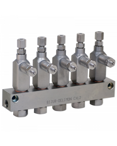 CXL2 Injector 5-Outlet 1/8NPTF Configurator